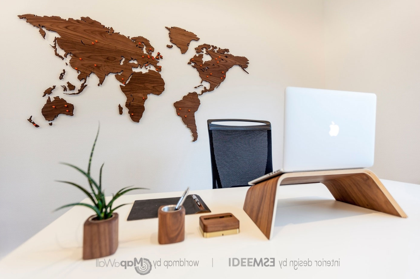 Popular Wooden World Map Wall Art Inside Wooden World Map Wall Art New Wood Roundtripticket Me Within In (View 6 of 15)