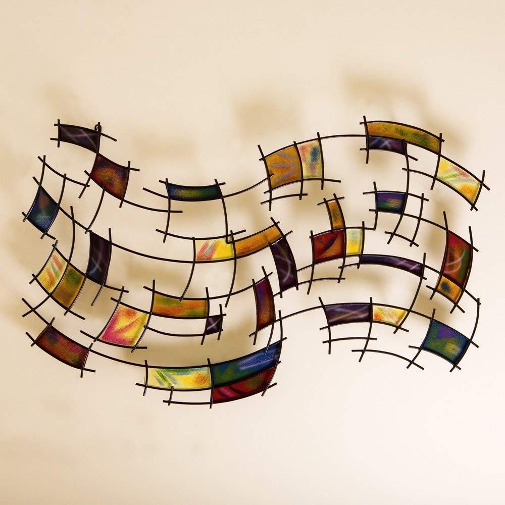Preferred Abstract Wall Art In Amazon: Sei Southern Enterprises Abstract Wall Art Deco, Gold (View 11 of 15)