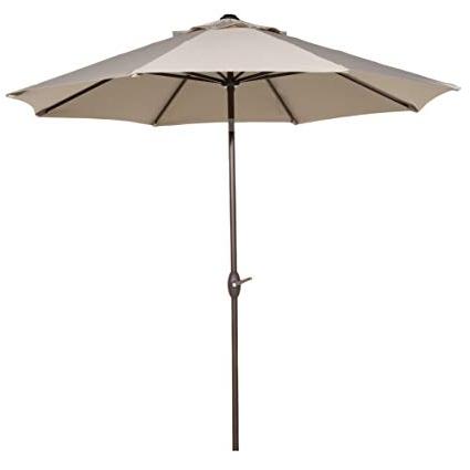 Preferred Amazon : Abba Patio Sunbrella Patio Umbrella 9 Feet Outdoor In Sunbrella Patio Table Umbrellas (View 7 of 15)