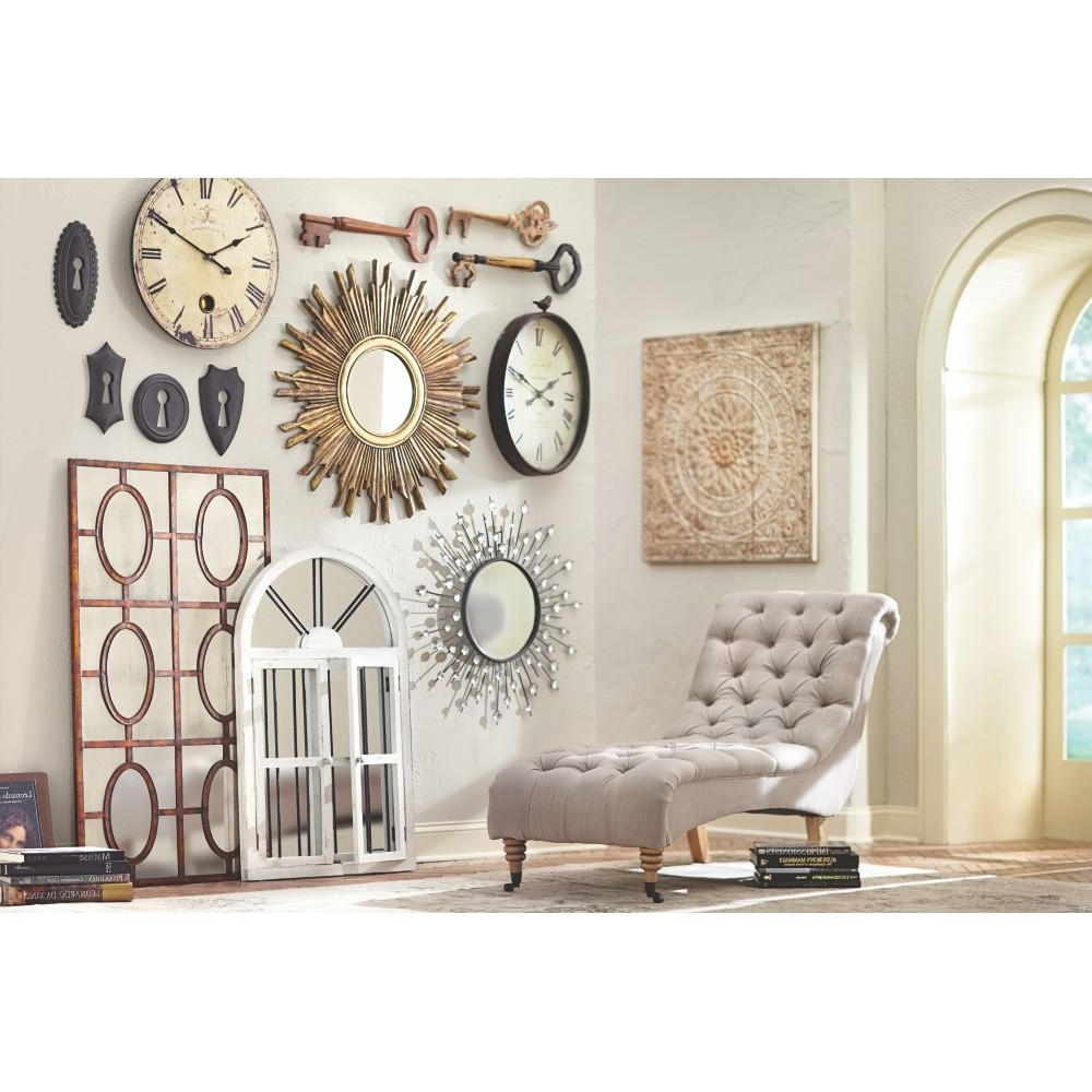 Preferred Art Wall Decor Pertaining To Amaryllis Metal Wall Decor In Distressed Cream 0729400440 – The Home (View 3 of 15)