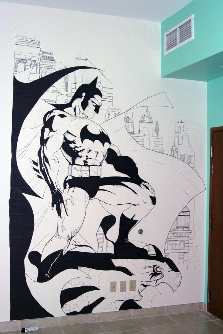 Preferred Batman Wall Art Regarding Batman Wall Artzabbah On Deviantart (View 10 of 15)