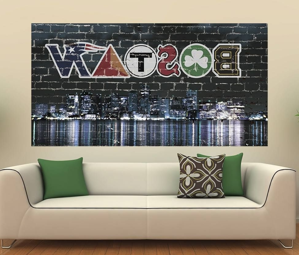 """Preferred Boston Wall Art throughout Awesome Boston Wall Graphic!! Get Yours Here """" Http://www.amazon"""