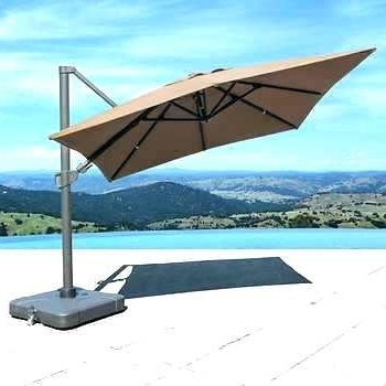Preferred Costco Patio Umbrellas For Costco Patio Umbrella Photo 1 Of 3 Foot Cantilever Umbrella 2 Superb (View 6 of 15)