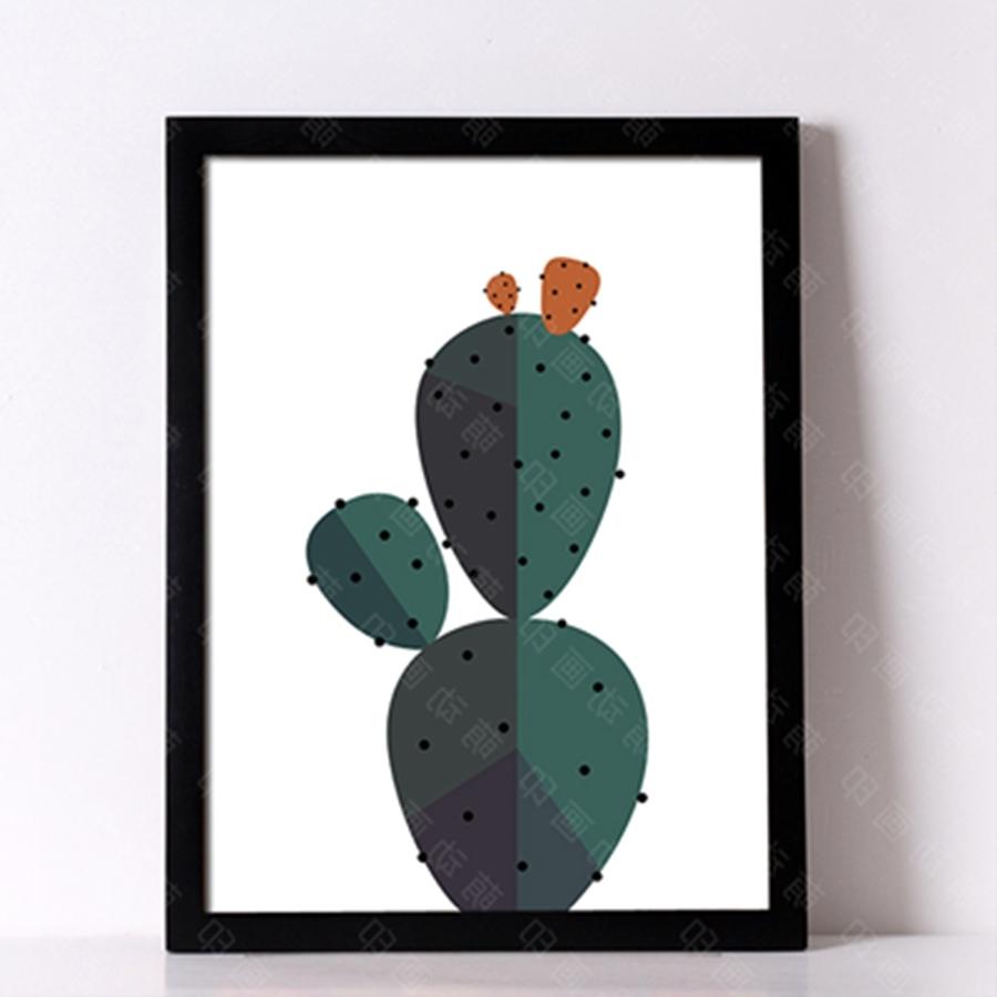 Preferred Desert Cactus Wall Art Print Decorative Wall Painting , Cactus For Cactus Wall Art (View 14 of 15)