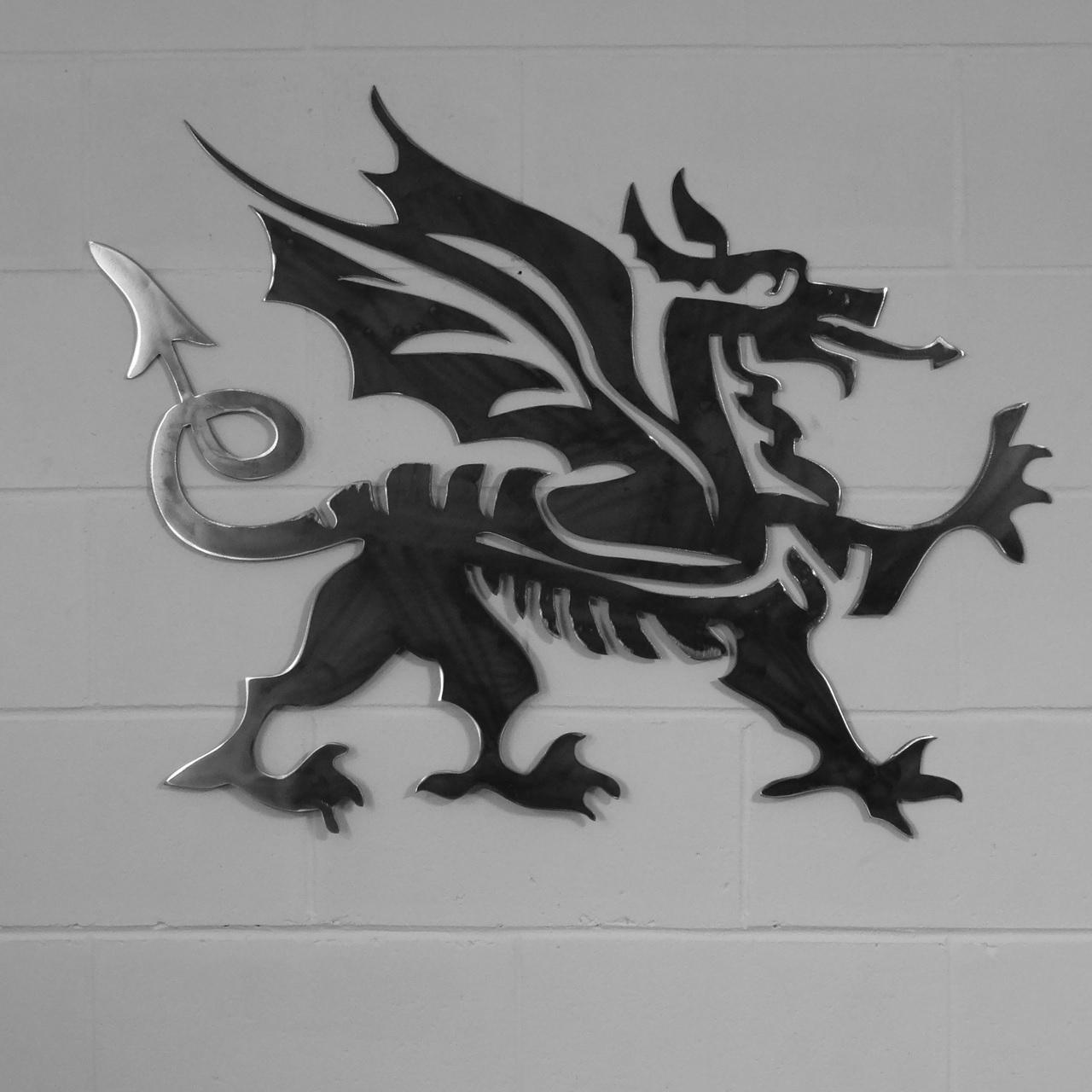 Preferred Dragon Wall Art For Home & Garden :: Metal Wall Art :: Cymru Welsh Dragon Style Metal (View 11 of 15)