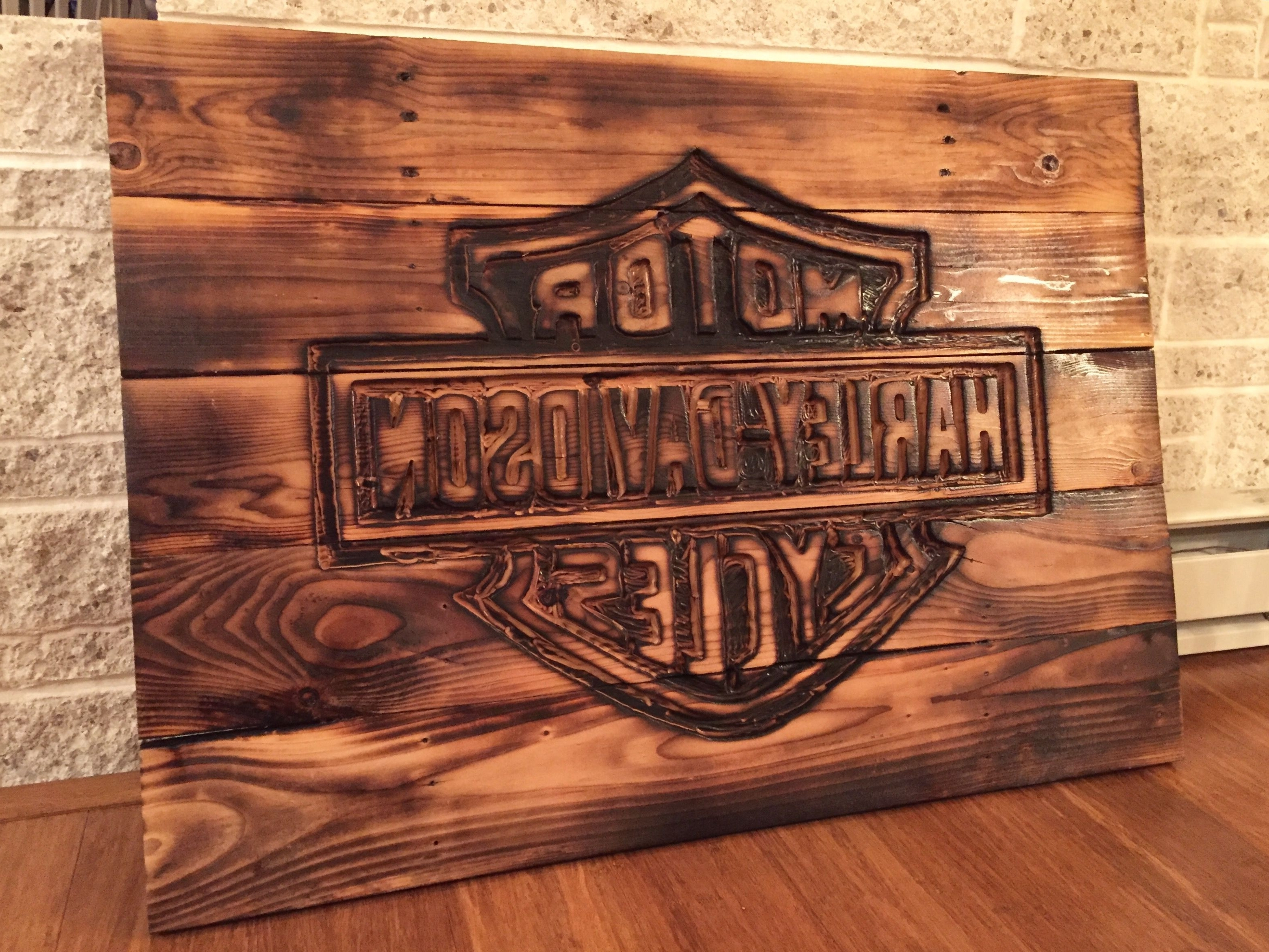 Preferred Harley Davidson Wall Art Within Unthinkable Harley Davidson Wall Decor  The Best Walls Gallery Sites (View 14 of 15)