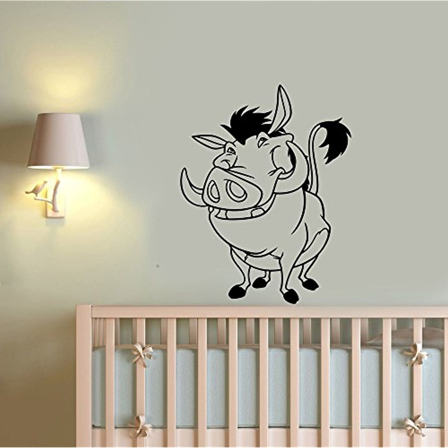 Preferred Lion King Wall Art Regarding Pumba Lion King Wall Art Decal Vinyl Sticker Housewares Disney (View 12 of 15)