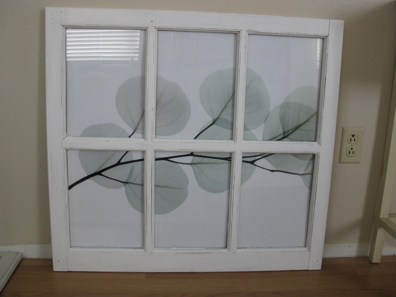 Preferred Make Window Frame Wall Art – Tierra Este (View 5 of 15)
