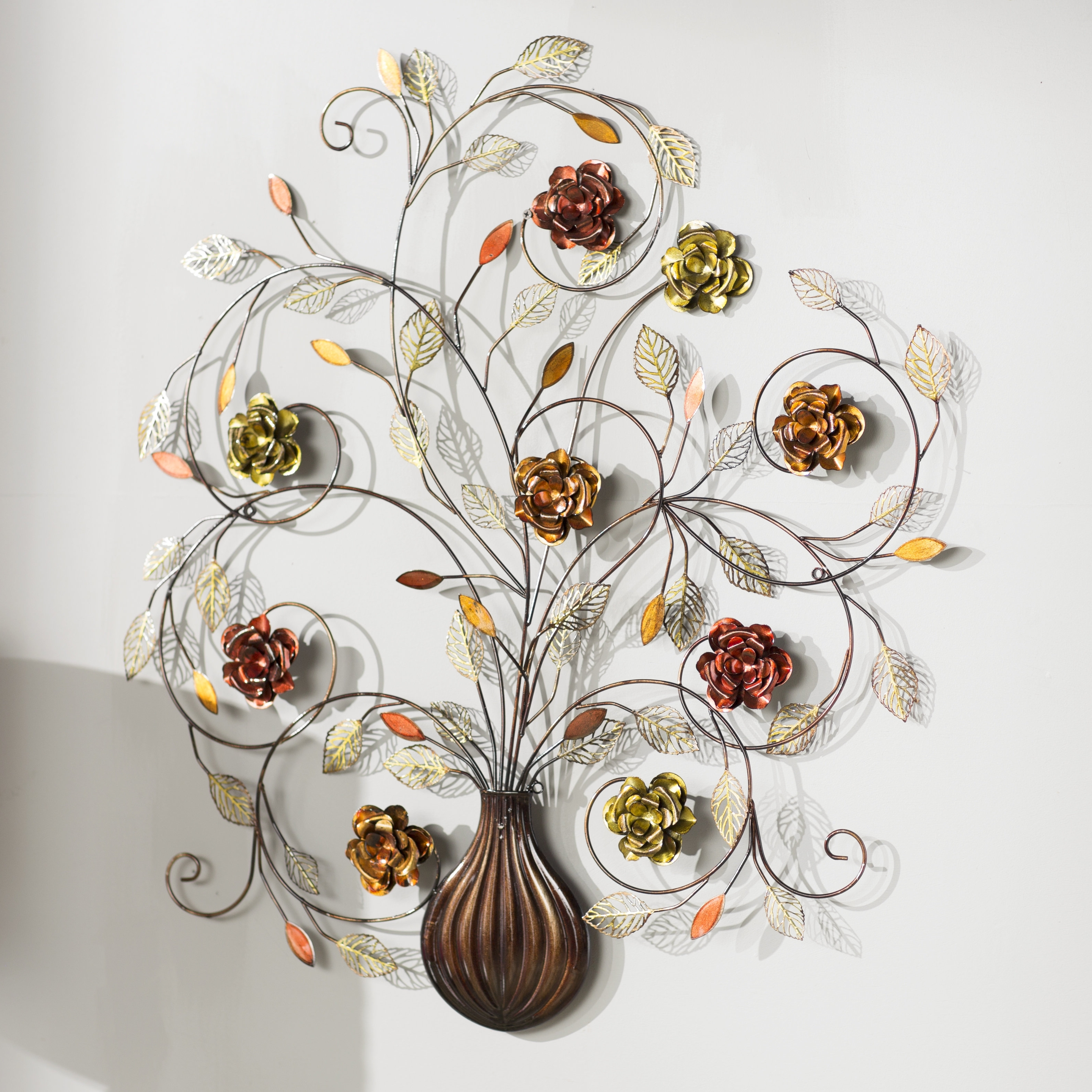 Featured Photo of Metal Flower Wall Art
