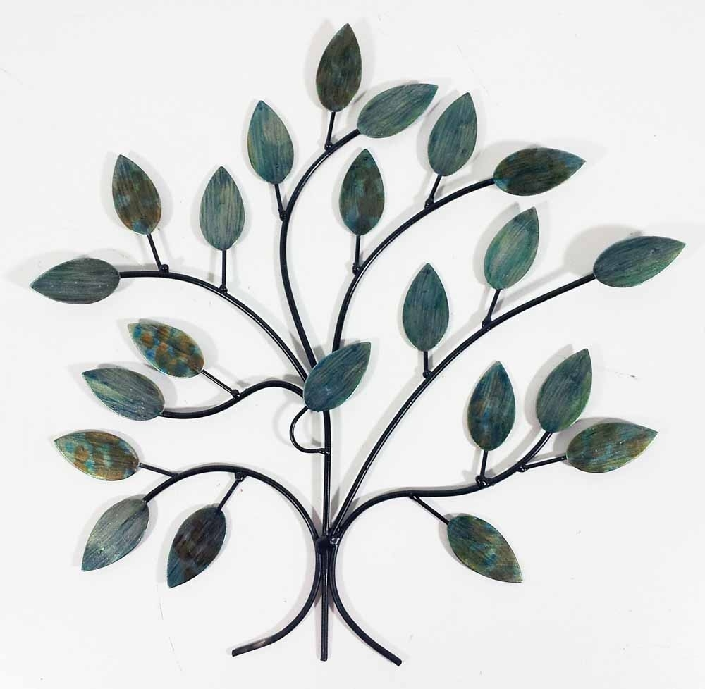 Preferred Metal Tree Wall Art Inside Metal Wall Art – Cool Winter Tree Branch (View 12 of 15)