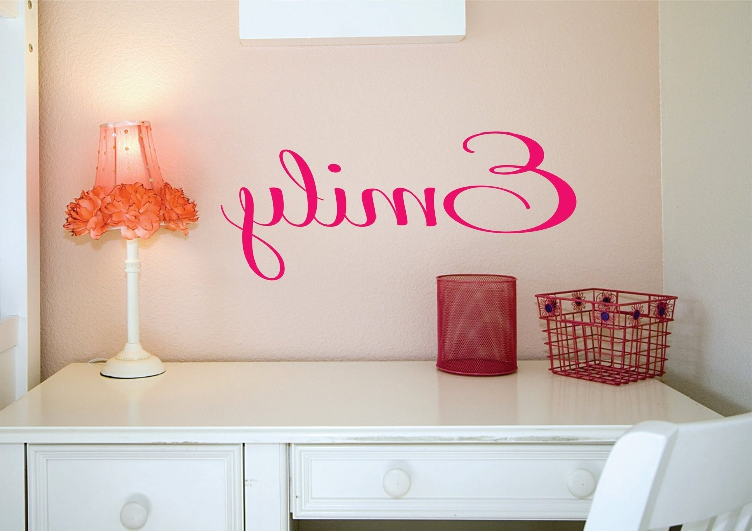 Preferred Name Wall Art For Name Sign, Custom Name Decal, Vinyl Decal, Wall Decals, Kids Room (View 7 of 15)