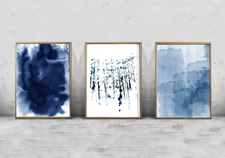Preferred Navy Blue Wall Art Regarding The Best Navy Blue Wall Art, Navy Wall Art – The Beyer Foundation (View 15 of 15)