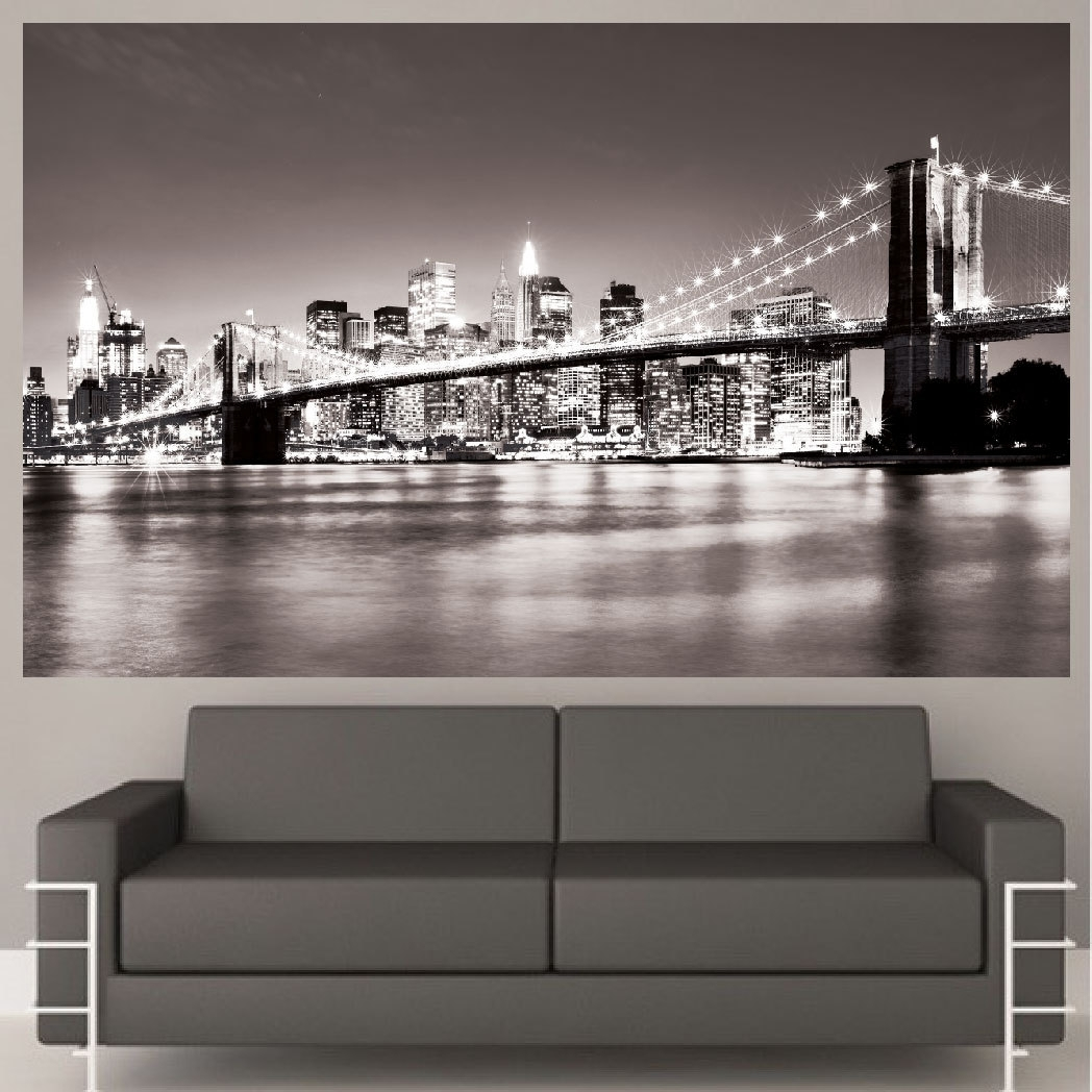 Preferred New York Wall Art With Regard To Luxury Idea New York Wall Art Home Design Ideas Decal Mural Nyc (View 4 of 15)