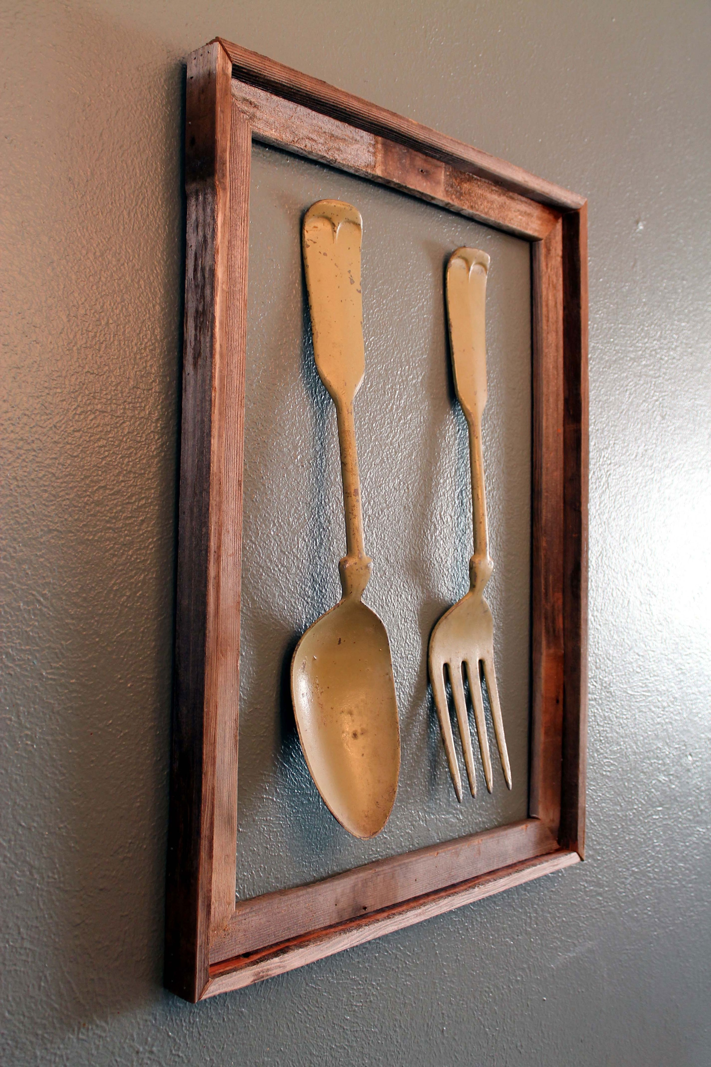 Preferred Oversized Spoon And Fork Wall Decor – Amthuchanoi Throughout Fork And Spoon Wall Art (View 4 of 15)