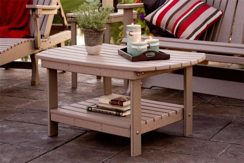 Preferred Patio Umbrellas With Accent Table With Regard To Coffee Table: Getting The Perfect Outdoor Patio Coffee Table Outdoor (View 8 of 15)