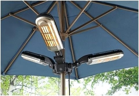 Preferred Patio Umbrellas With Fans With Unique Patio Umbrella Fan Or Led Ceiling Fans 14 Fancy Patio (View 4 of 15)