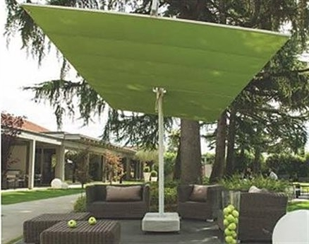 Preferred Rectangle Patio Umbrellas Within Attractive Rectangle Patio Umbrella Fim Flexy Twin Aluminum 839 X (View 2 of 15)