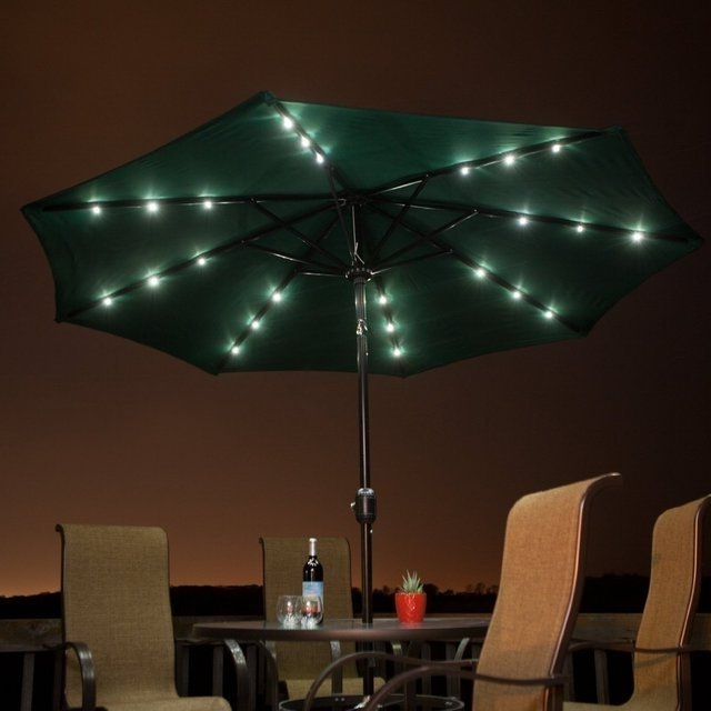 Preferred Solar Powered Patio Umbrellas In Solar Powered Patio Umbrella (View 8 of 15)