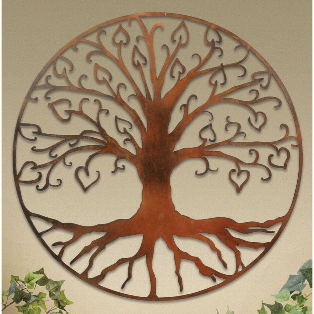 Preferred Tree Of Life Wall Art Within Wall Plaques: Tree Of Life Wall Art Plaque (View 5 of 15)