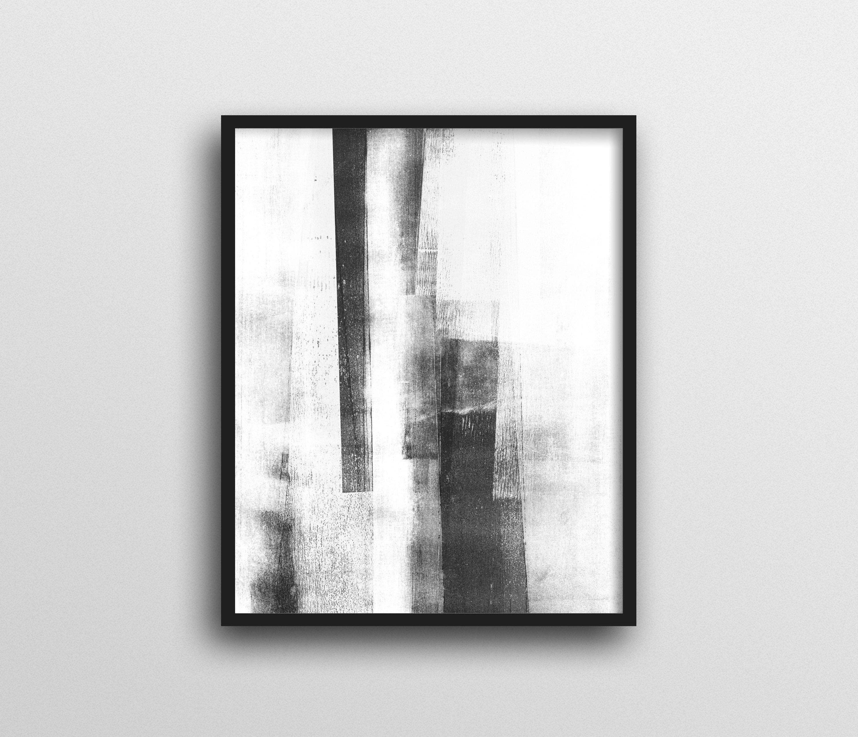 Preferred White Wall Art Pertaining To Black & White Wall Art, Scandinavian Art, Minimalist Poster (View 12 of 15)