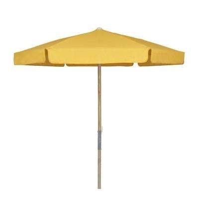Preferred Yellow Patio Umbrellas Inside Fade Resistant – Yellow – Patio Umbrellas – Patio Furniture – The (View 6 of 15)