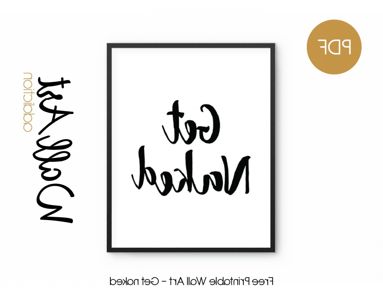 Printable Wall Art for Fashionable Free Printable Wall Art - Get Naked