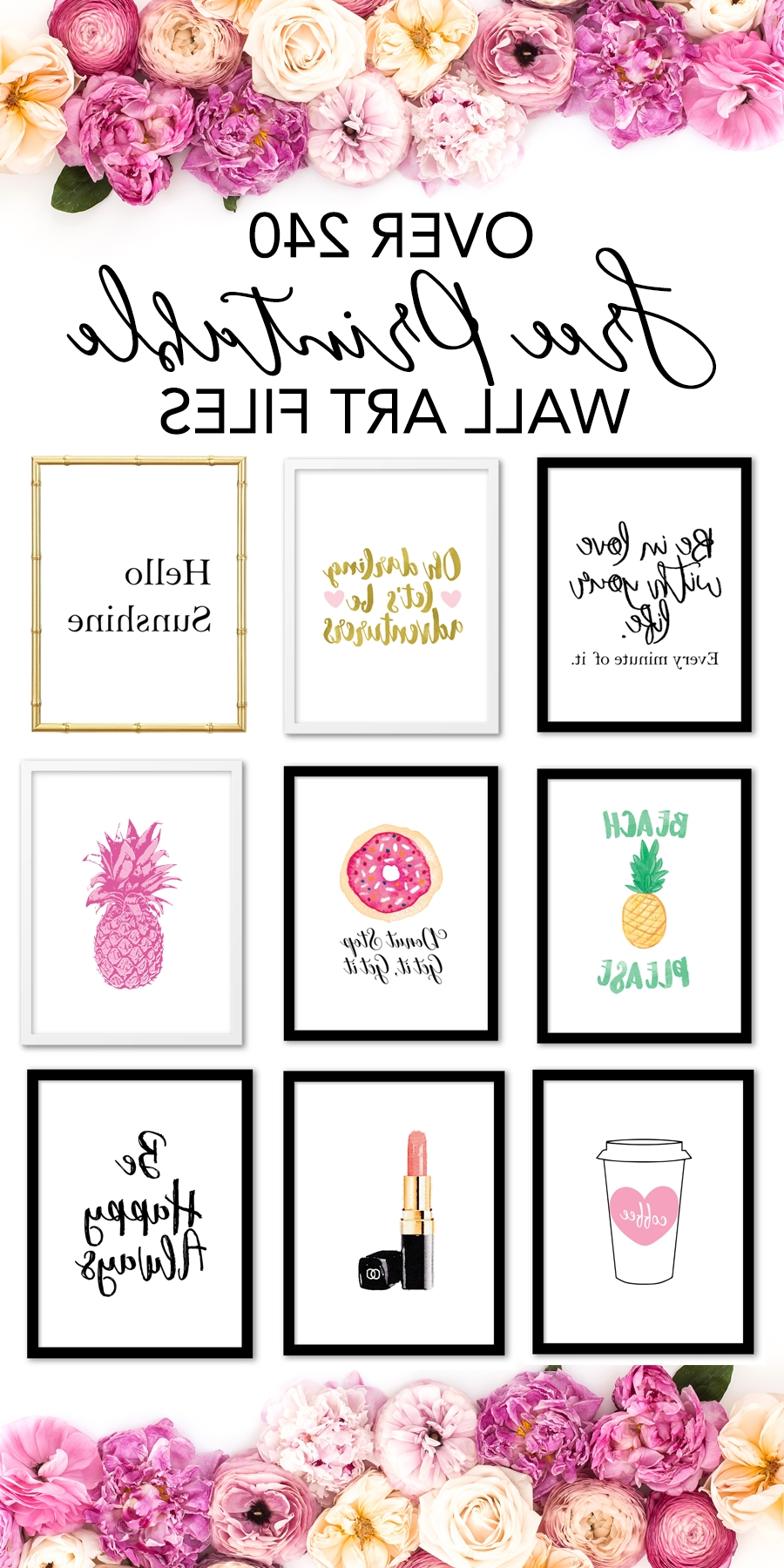 Printable Wall Art – Print Wall Decor And Poster Prints For Your Home In Best And Newest Printable Wall Art (View 8 of 15)