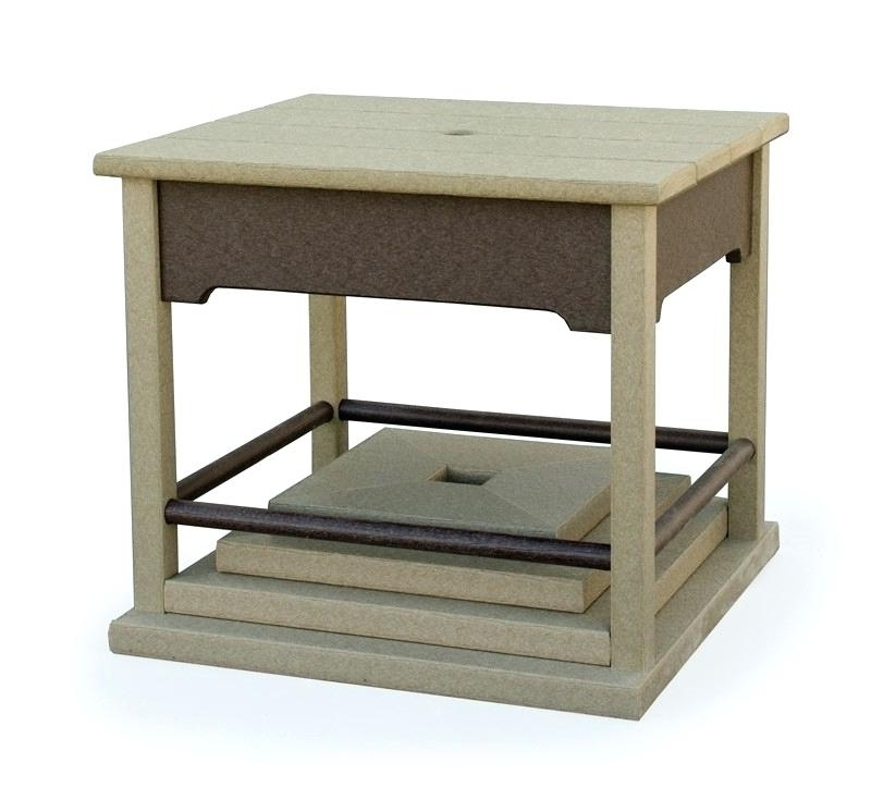 Prodigous Umbrella Stand Side Tables K3743073 Patio Umbrella Stand Pertaining To Most Up To Date Patio Umbrella Stand Side Tables (View 13 of 15)