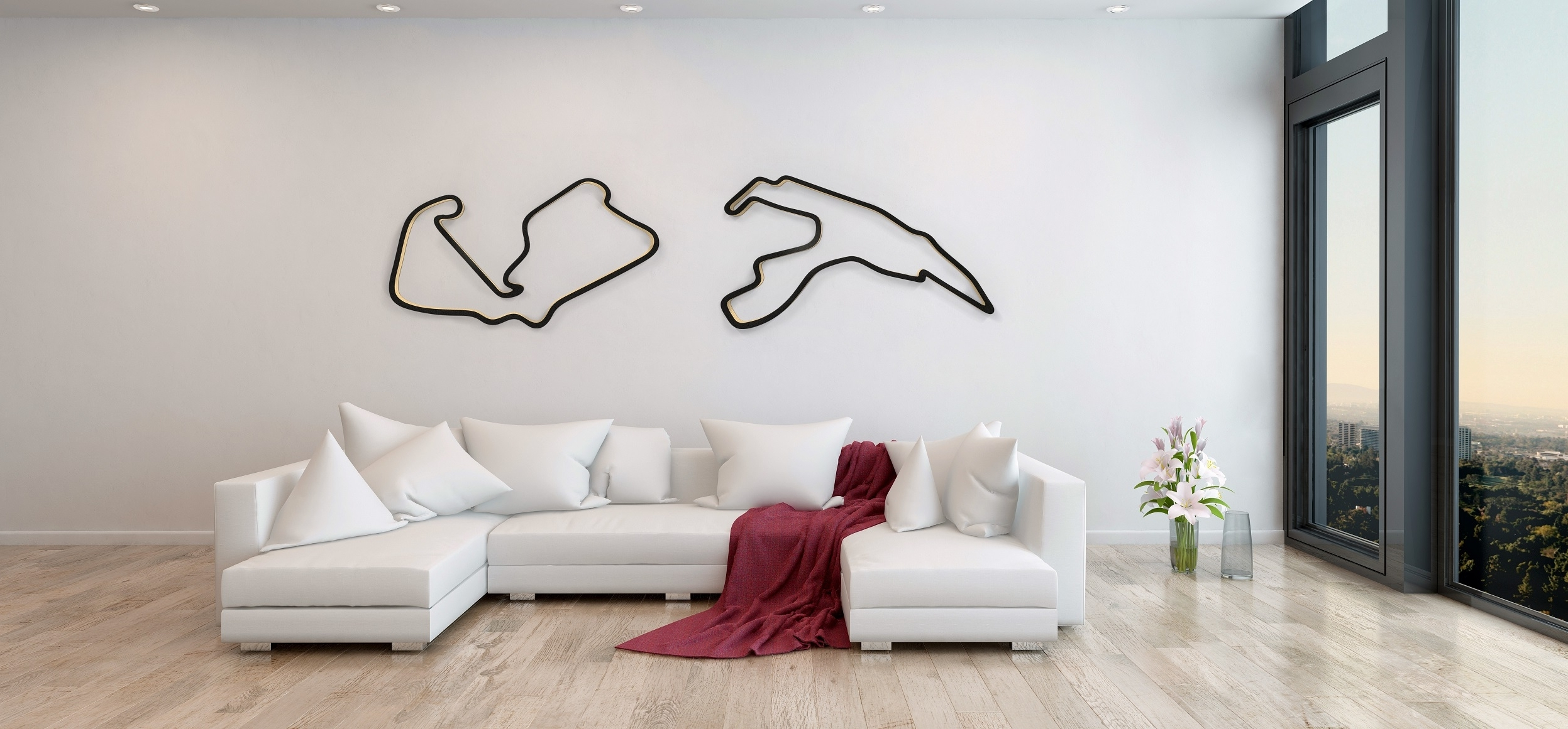 Race Track Wall Art With Regard To Most Up To Date Welcome To Racetrackart (View 2 of 15)