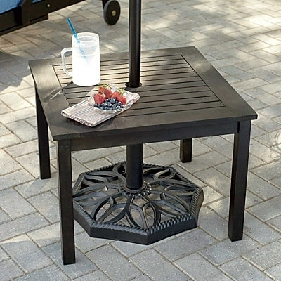 Randallhoven Throughout Most Recently Released Patio Umbrellas With Accent Table (View 7 of 15)
