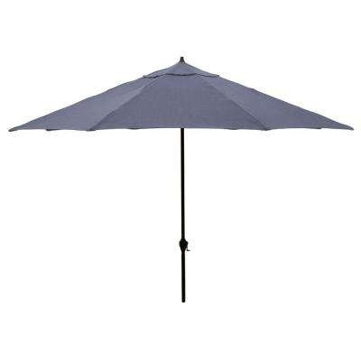 Recent 11 – Hampton Bay – Patio Umbrellas – Patio Furniture – The Home Depot Regarding Hampton Bay Patio Umbrellas (View 12 of 15)