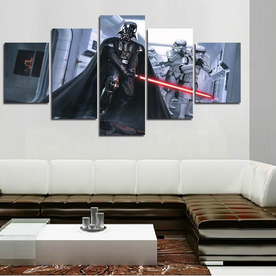Recent 2016 Promotion Fallout Wall Art Framed Star Wars Darth Vader Within Darth Vader Wall Art (View 10 of 15)
