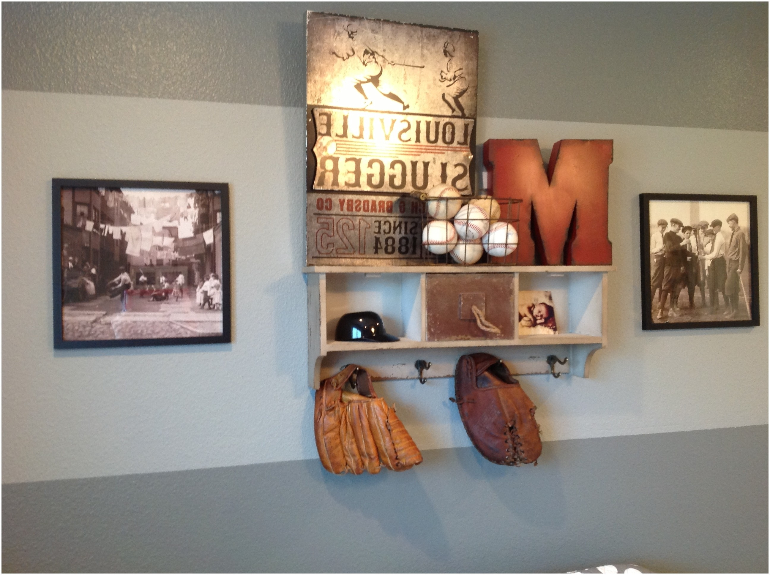 Recent Baseball Wall Art Baseball Wall Art Vintage Baseball Room Decor Inside Baseball Wall Art (View 14 of 15)