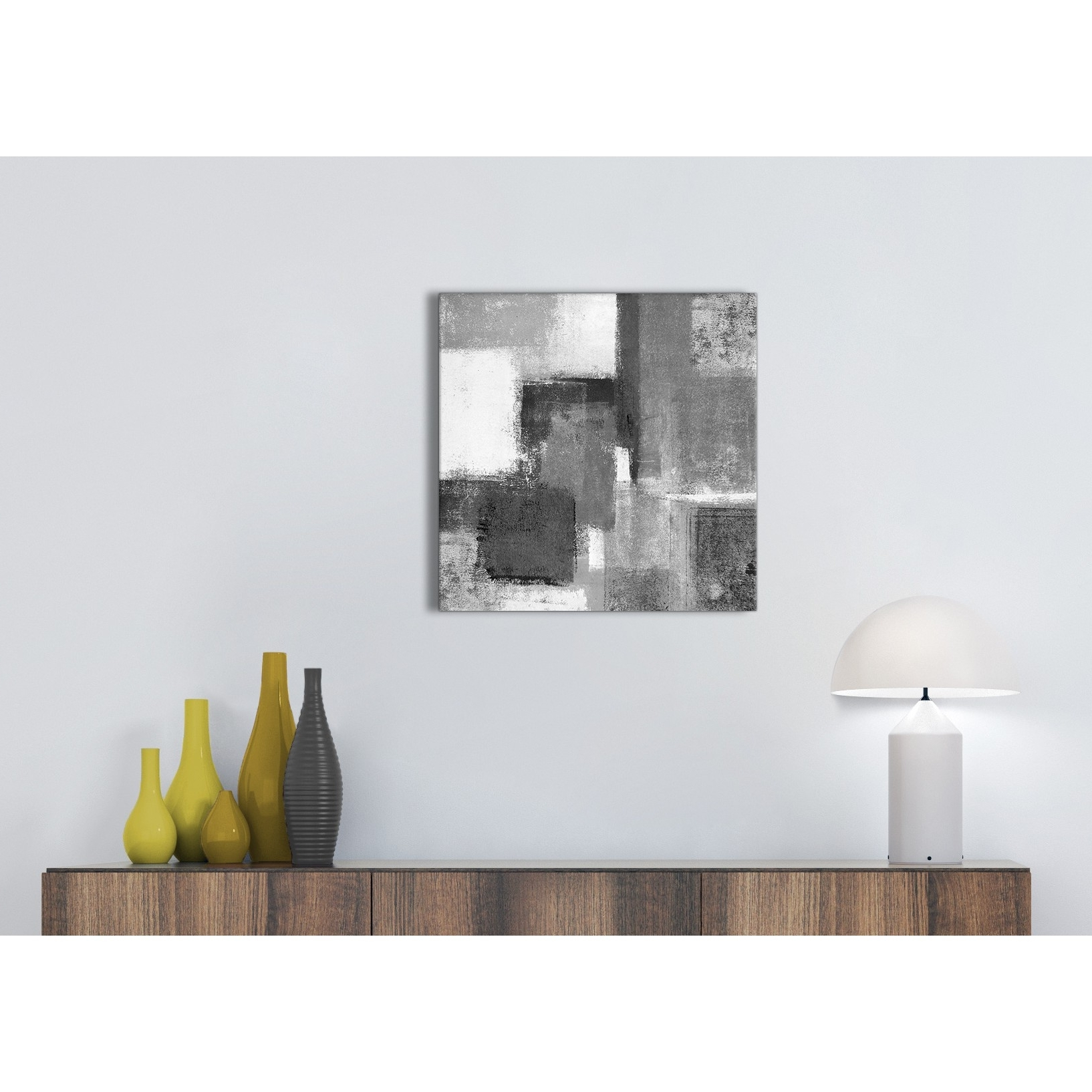 Recent Black White Grey Kitchen Canvas Pictures Accessories – Abstract Regarding Grey And White Wall Art (View 15 of 15)
