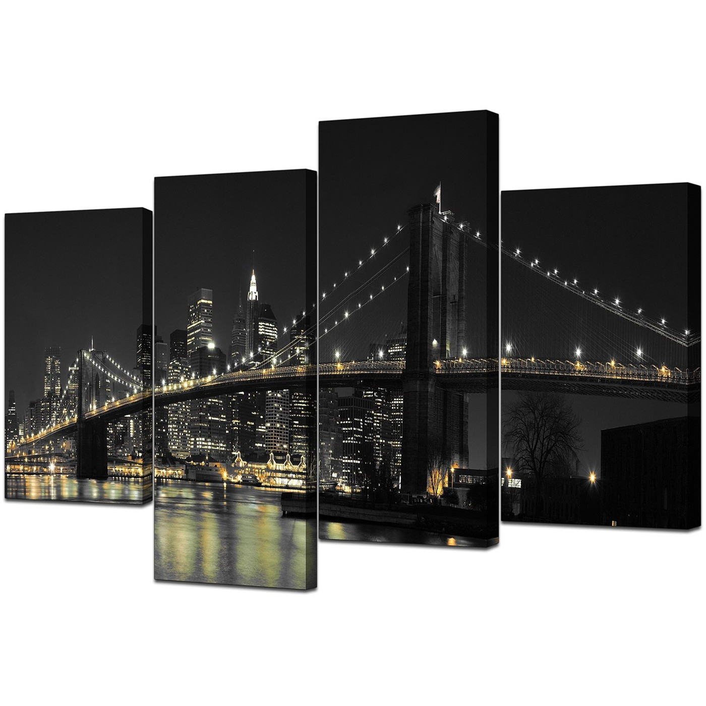 Recent Canvas Wall Art Of New York For Your Office – 4 Part Throughout Nyc Wall Art (View 3 of 15)