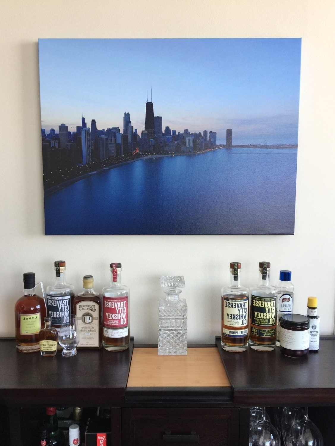 Recent Chicago Wall Art For Sunsets In Chicago – Office And Wall Art, Urban Art, Chicago Art (View 13 of 15)