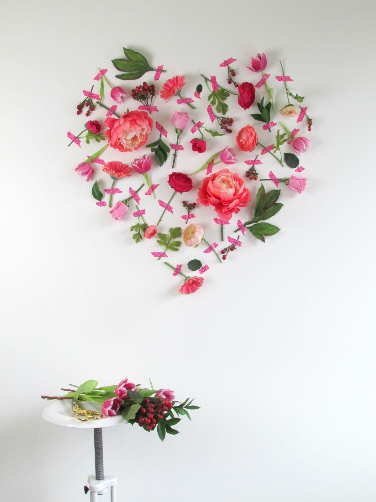 Recent Flower Wall Art Inside Pleasing Wall Art Flowers Inspiration Design Decoration Design Ideas (View 2 of 15)