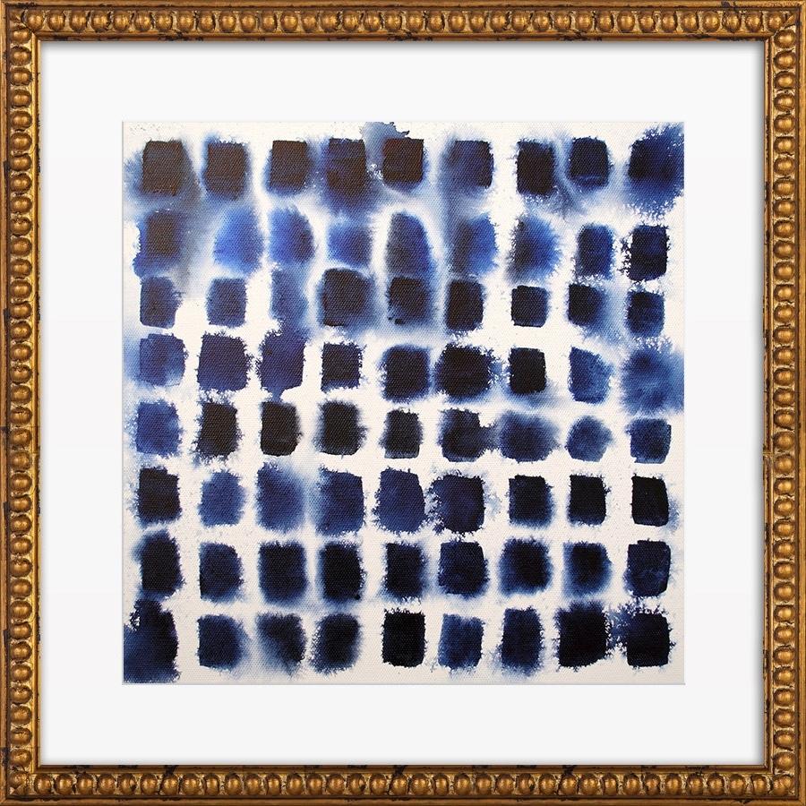 Recent Indigo Blocks Print, Artfully Walls & Reviews (View 13 of 15)