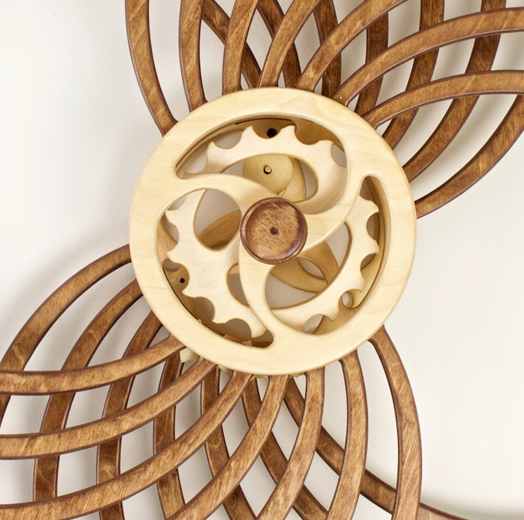 Recent Kinetic Wall Art Intended For Infinity – Kinetic Wall Sculpture – The Green Head (View 10 of 15)