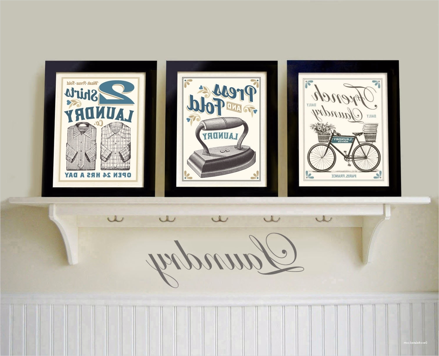 Recent Laundry Room Wall Art Pertaining To Laundry Room Wall Art Decor Layout 25 – Decorelated (View 13 of 15)
