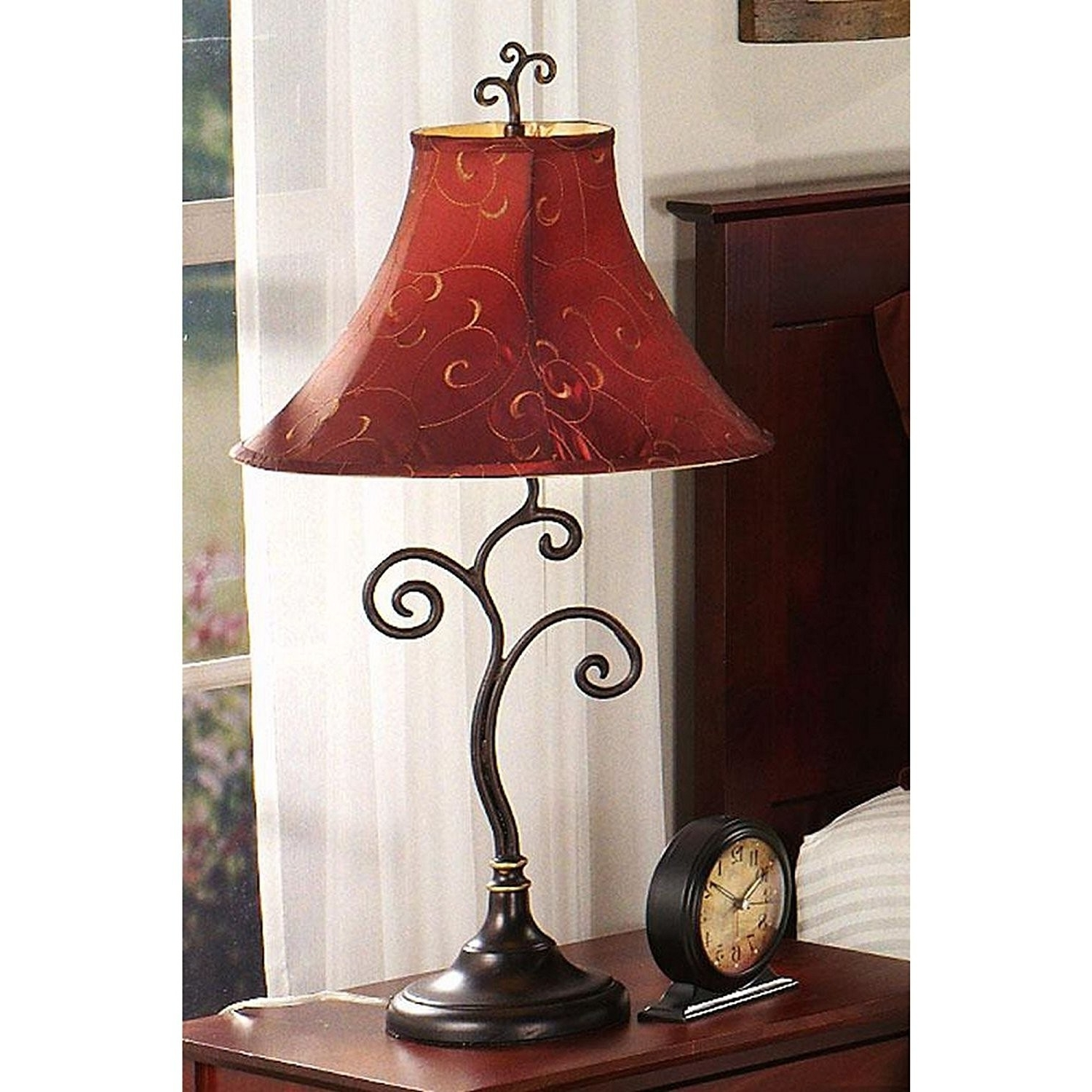 Featured Photo of Wrought Iron Living Room Table Lamps