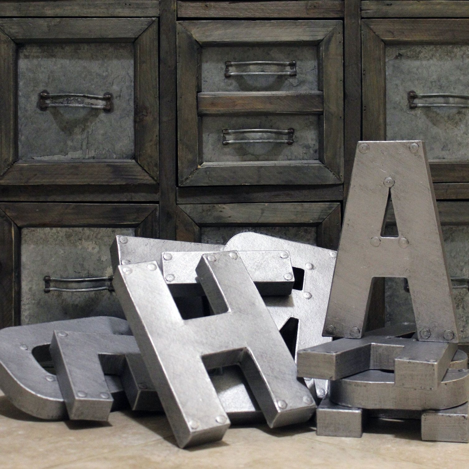 Recent Metal Letter Wall Art For Shocking Smartness Ideas Large Metal Letters For Wall Plus Decor Art (View 15 of 15)