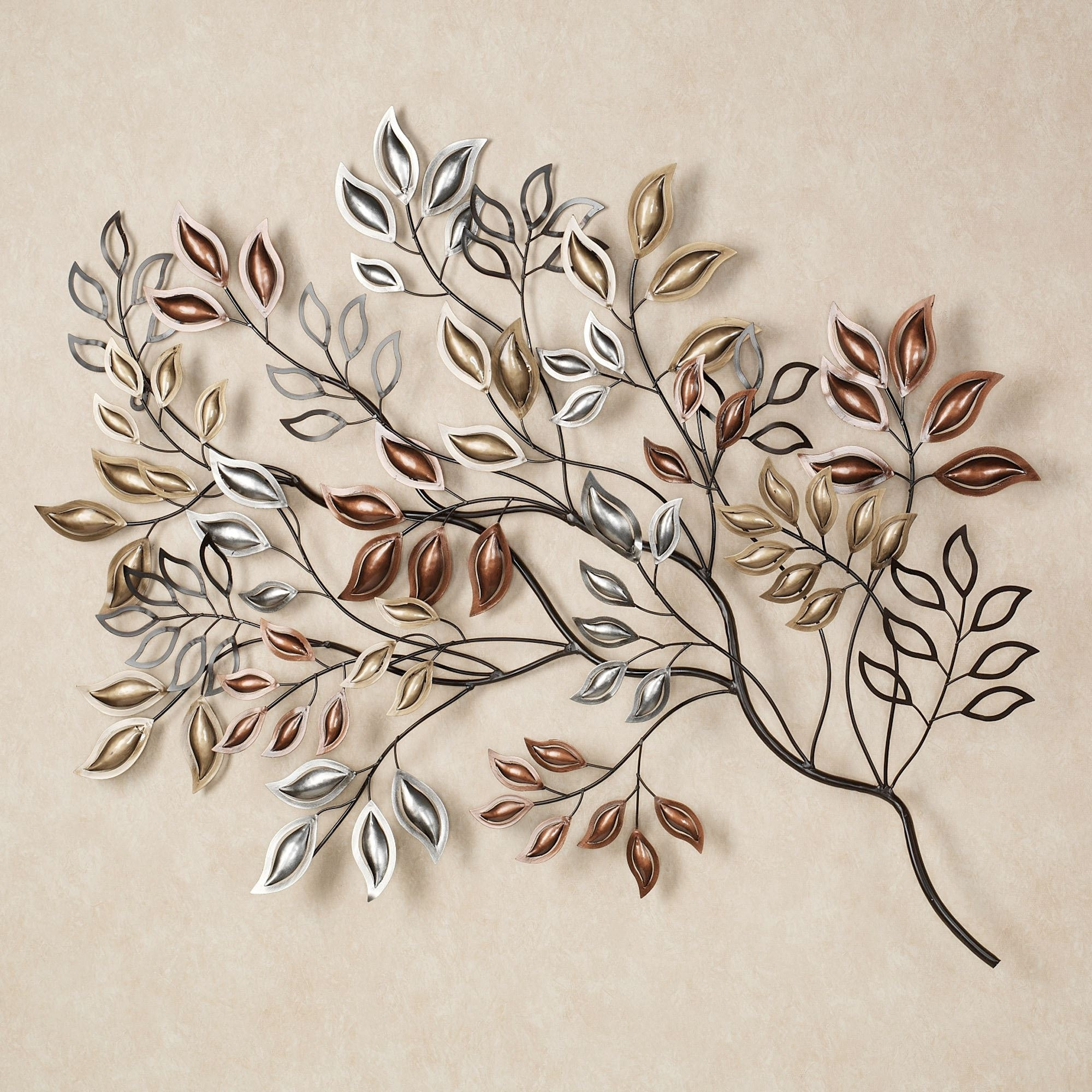Recent Metal Wall Art Sculptures With Metal Wall Sculpture Leaves – Blogtipsworld (View 9 of 15)