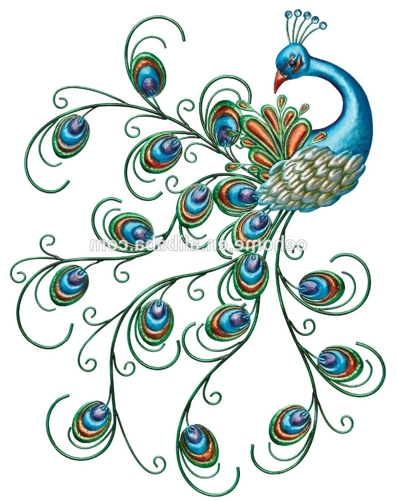 Recent Peacock Wall Art For Unique Modern Peacock Wall Decor – Buy Peacock Wall Decor,peacock (View 15 of 15)
