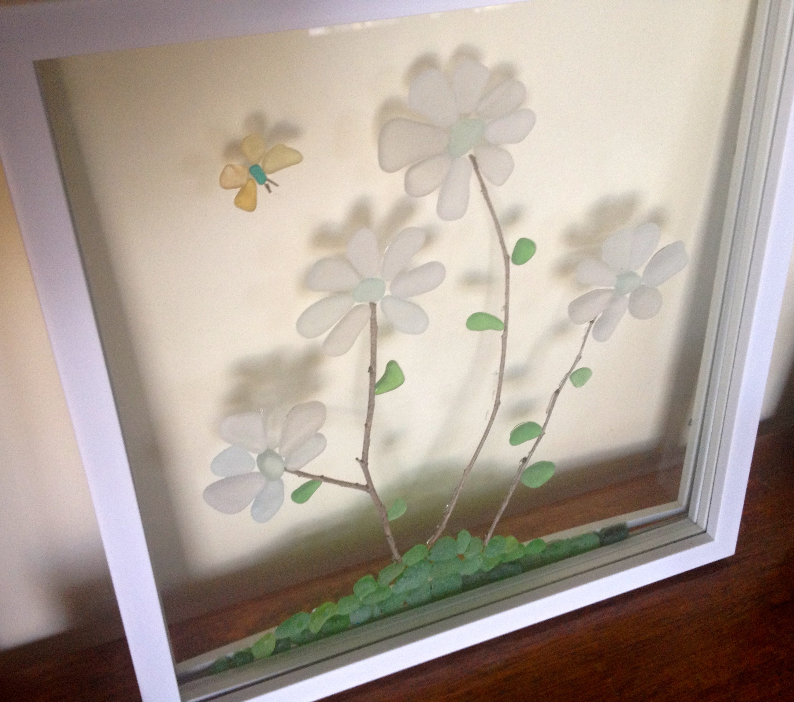 Recent Sea Glass Wall Art Pertaining To Sea Glass Art Projects – Find Sea Glass (View 12 of 15)