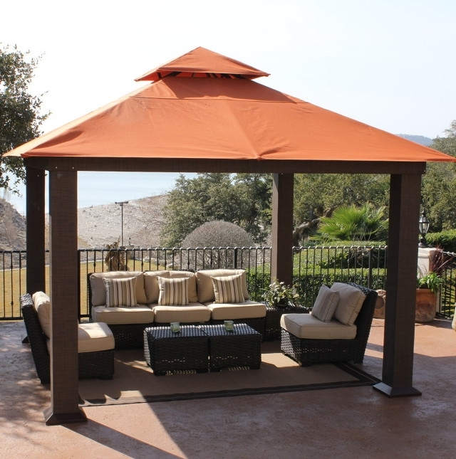 Recent Sunbrella Patio Umbrellas At Costco Inside Popular Of Teak Patio Furniture Costco House Design Suggestion (View 2 of 15)
