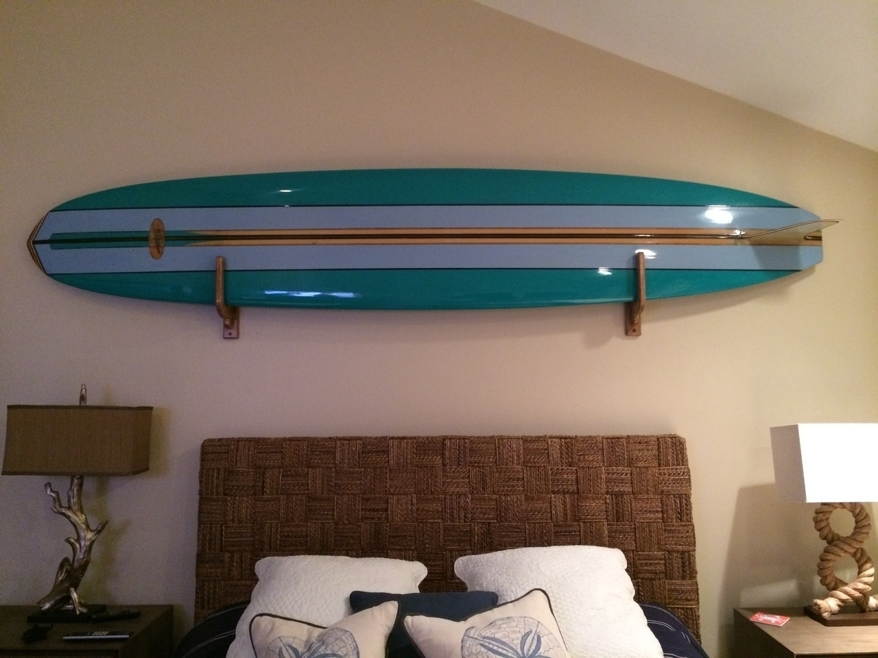 Recent Surfboard Wall Art In Unfinished Surfboard Wall Decor — Room Decor : How To Select (View 6 of 15)