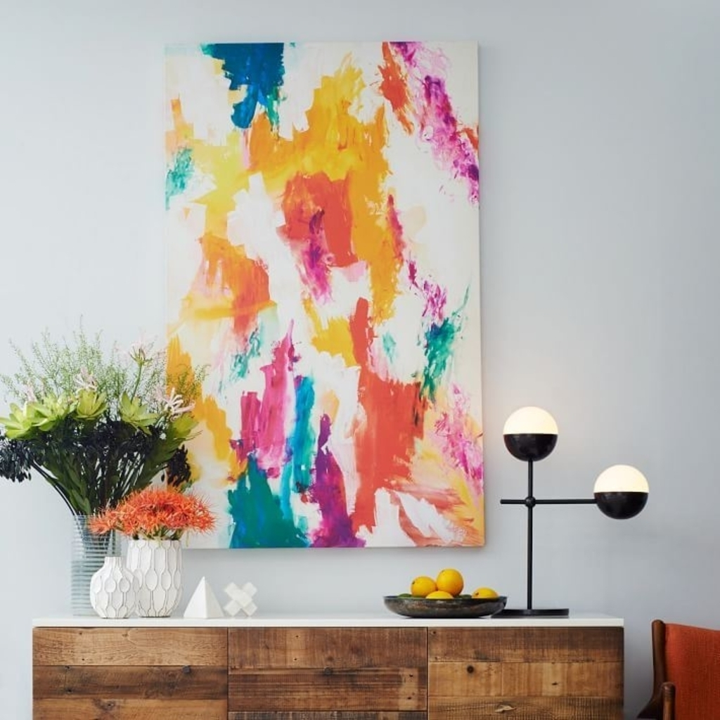 Recent West Elm Abstract Art Explore Photos Of West Elm Abstract Wall Art Intended For West Elm Wall Art (View 12 of 15)