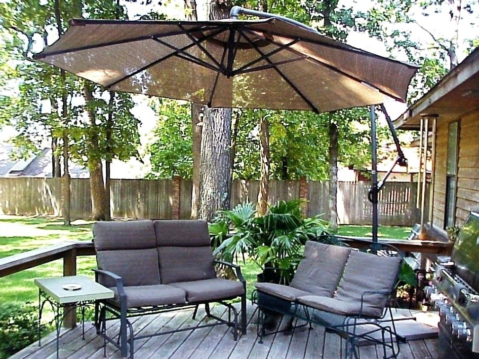 Recent Wind Resistant Patio Umbrellas In Ideas Wind Resistant Patio Umbrella For 19 Fiberglass Wind Resistant (View 5 of 15)