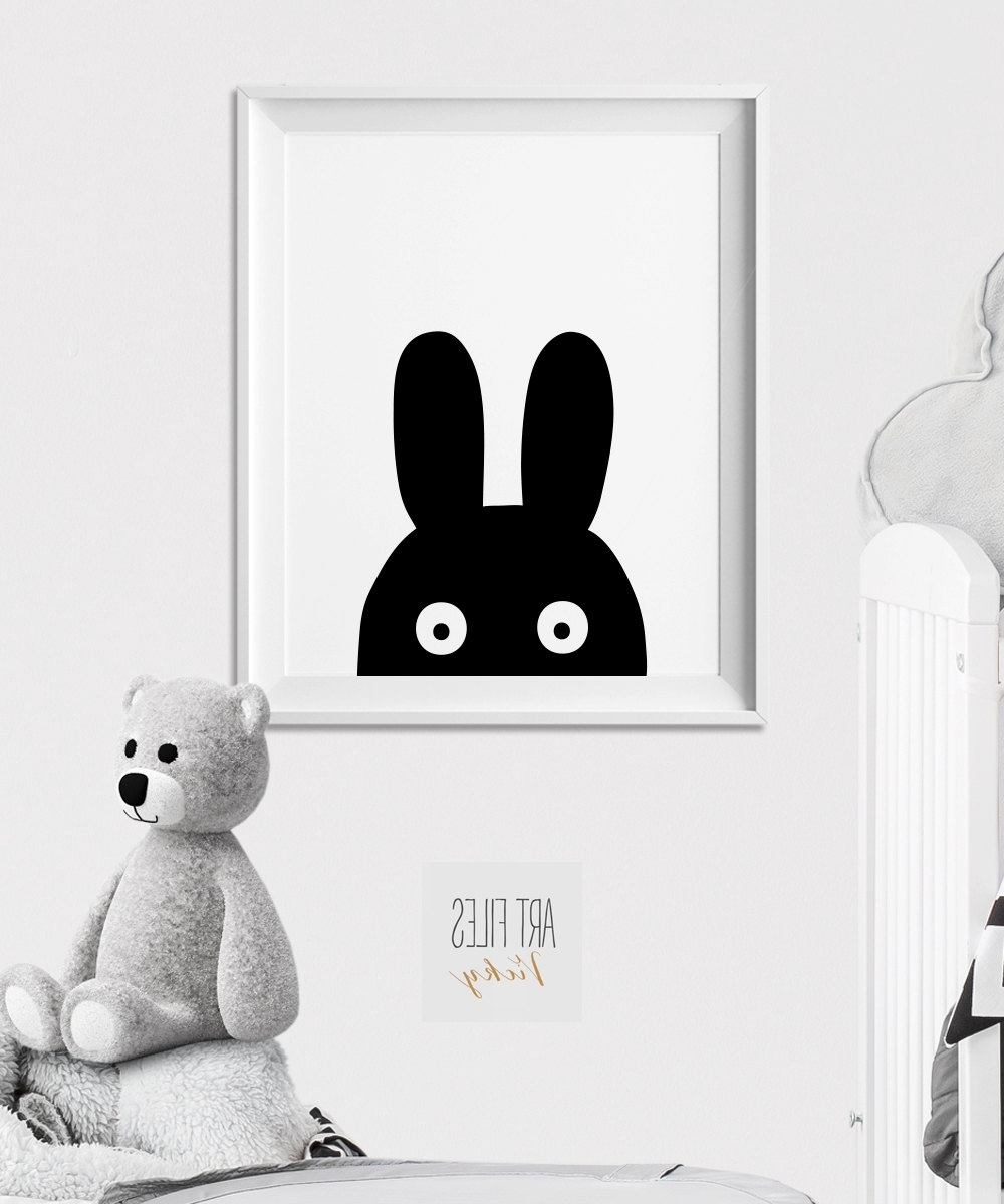 Recent Winsome Bunny Wall Art – Ishlepark Throughout Bunny Wall Art (View 13 of 15)
